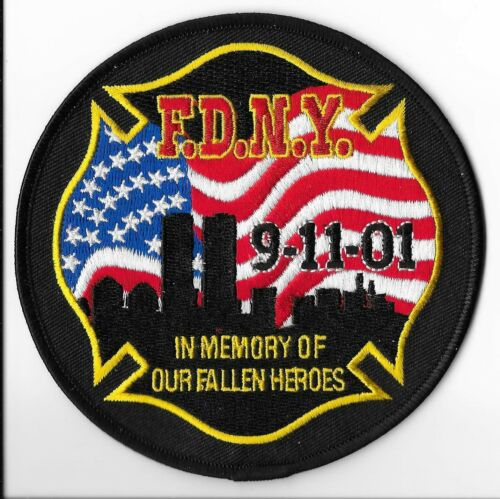 New York Fire Department (FDNY) 9-11-01 Patch V1