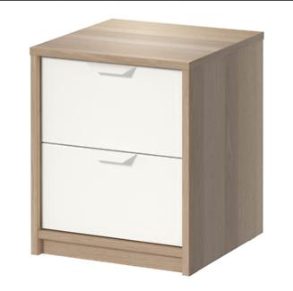 IKEA ASKVOLL - Chest of 2 drawers - 41x48 cm