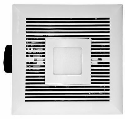 Ultra Quiet Exhaust - Tatsumaki LD120 Electric Bathroom Fan 120 CFM Ultra Quiet Exhaust with LED light