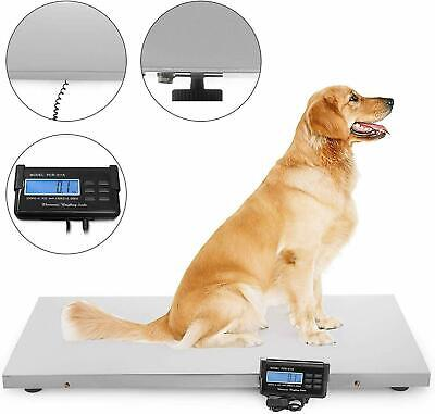 660lb Digital Livestock Vet Scale Hog Pet 110v Ac Wsensitivity Tare Function