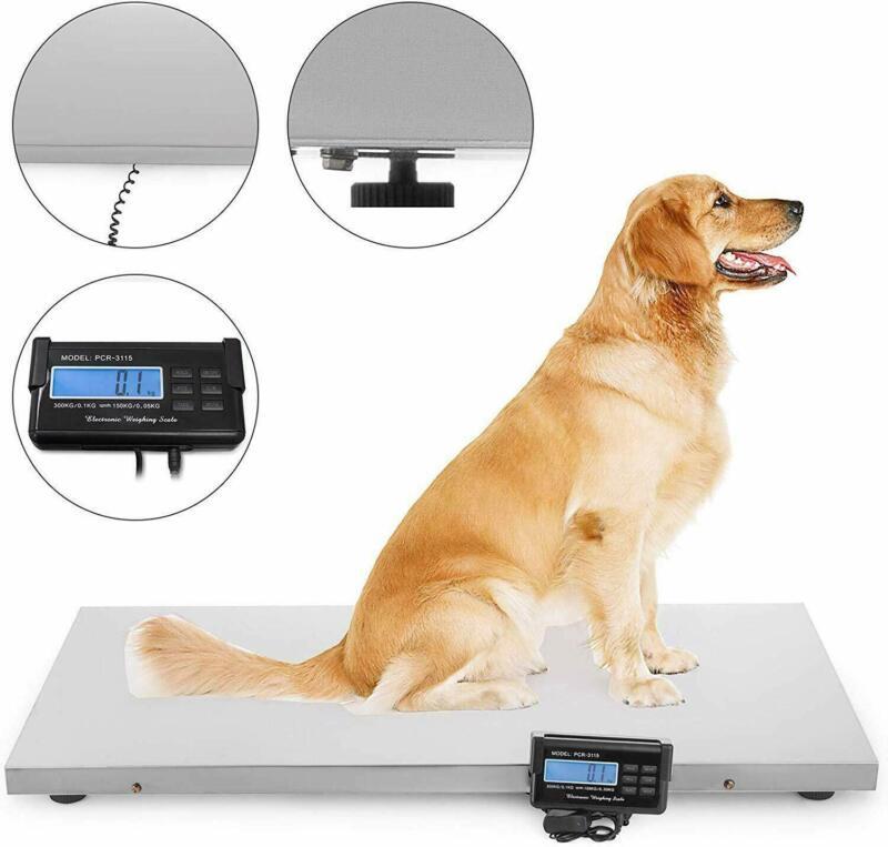 660LB Digital Livestock Vet scale Hog Pet Dog Sheep Goat Scale Battery Powered