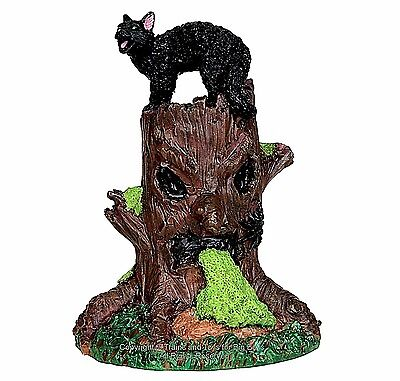 Spooky Woods Halloween (Lemax 54915 SPOOKY WOODS TREE STUMP Spooky Town Accessories Halloween Decor)