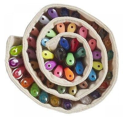 48 Gel Pens Set Glitter Pastel Neon Colors for Kids Adult Coloring Art Book Case