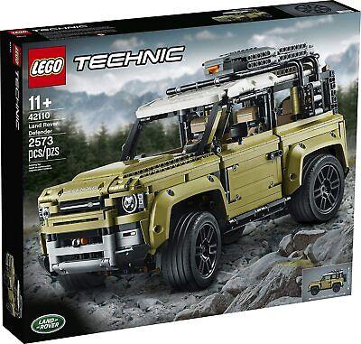 Lego 42110 Technic 11+ Land Rover Defender NEW SUV AllTerrainVehicle 2573 Pieces