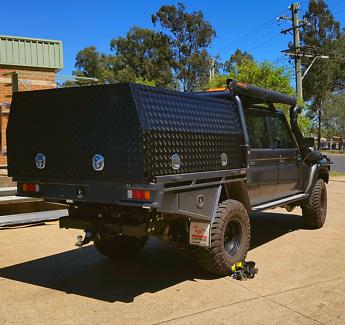 In stock in Sydney! Ute truck aluminium canopy tool box toolbox