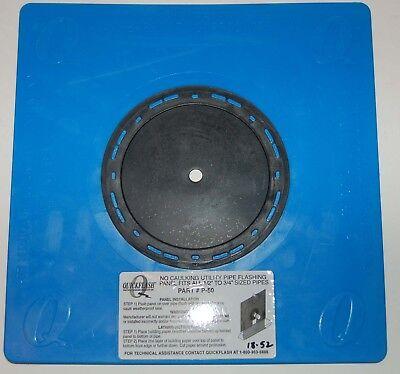 3 Quickflash Flashing Panels P-50 Plumbing Gas Hvac Flashing Panel12-34