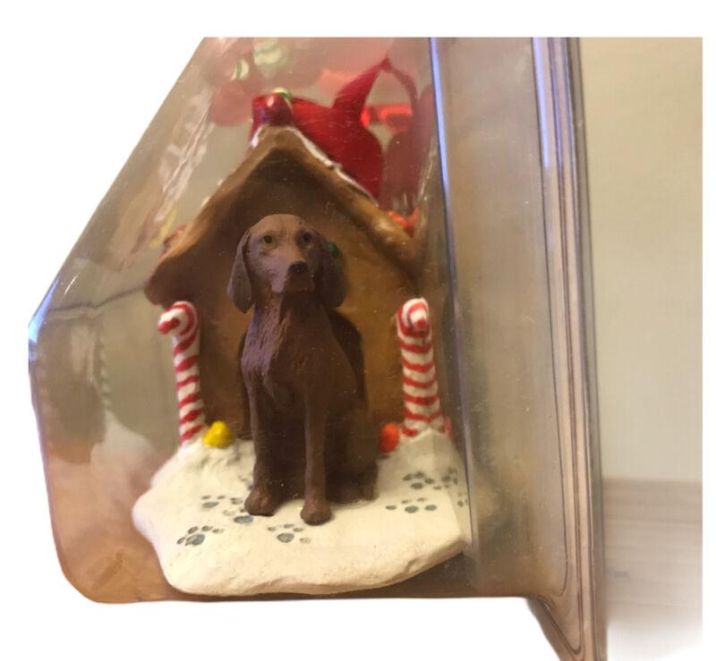 Vizsla Christmas Ornament Gingerbread House Ornament New