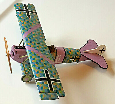 Corgi German Fokker DV II Diecast Model Airplane WWI, Rudolf Stark Jasta 35b
