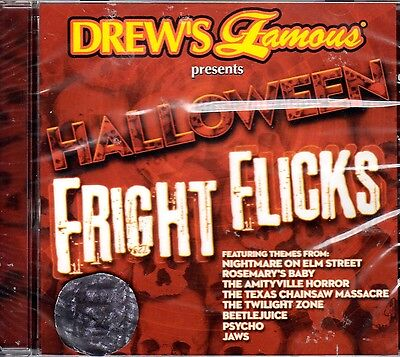 Drew's Famous HALLOWEEN FRIGHT FLICKS: MOVIE SOUNDTRACK THEMES & BONUS SOUNDS CD