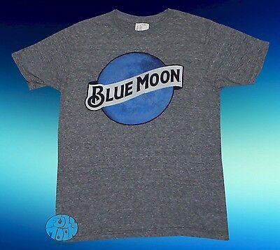 New Blue Moon Gray Classic Logo Men