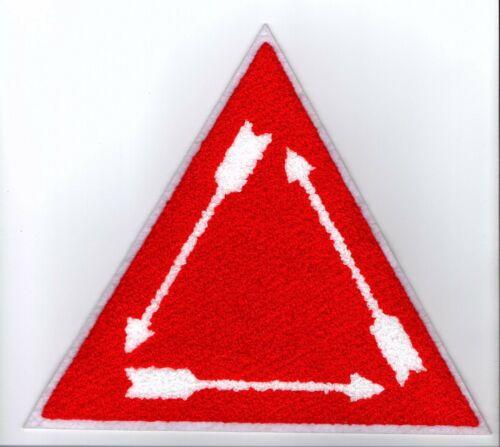 "Boy Scout OA Order of the Arrow Vigil 8"" Chenille Jacket Patch"
