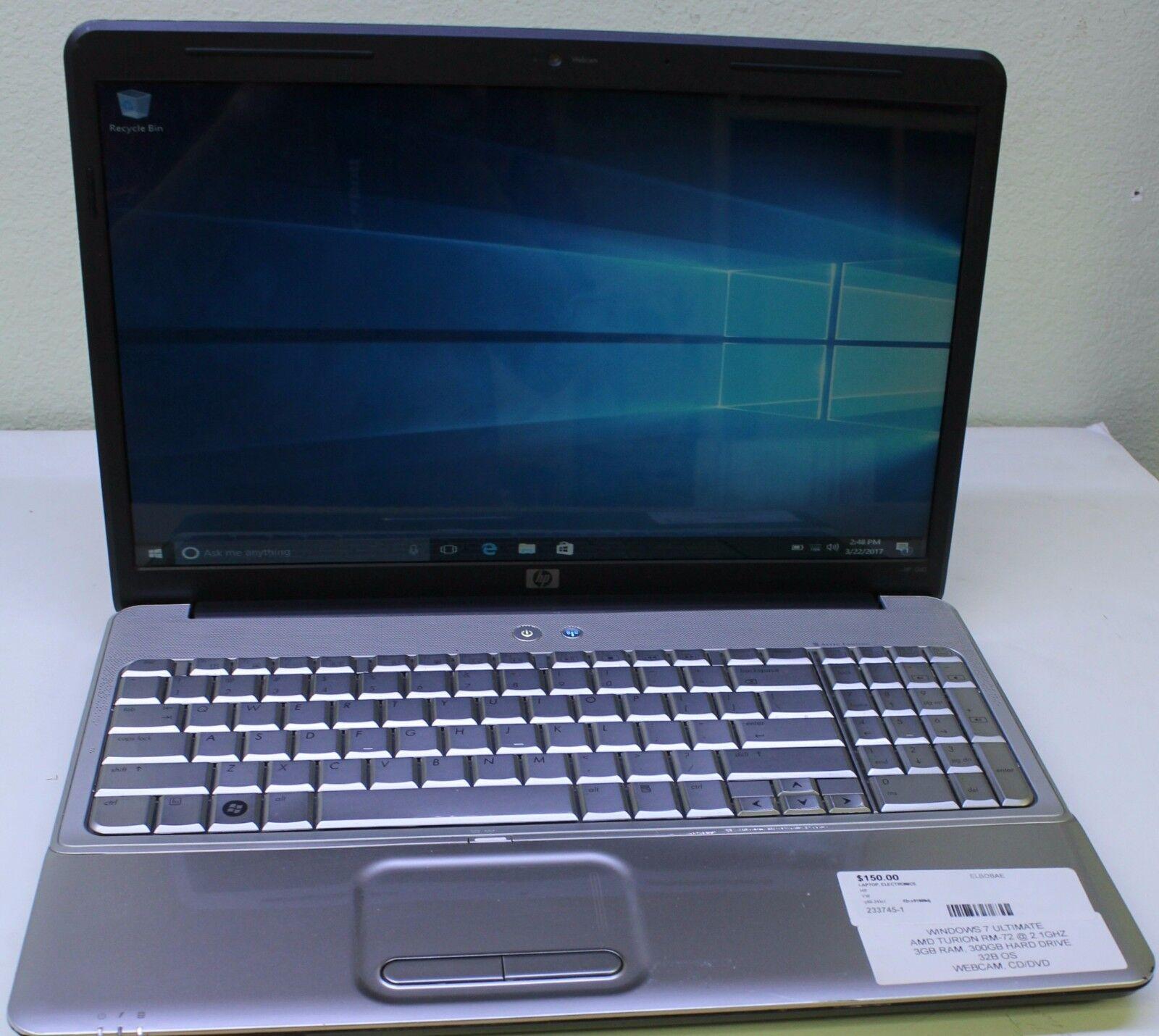 HP Pavilion G60-243CL   16-inch Laptop - FOR PARTS