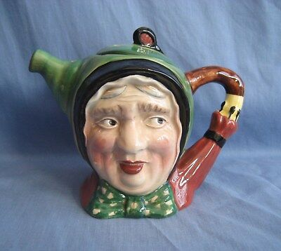 Beswick Character TEAPOT #691 ~ DICKENS SAIREY GAMP ~ EXC COND