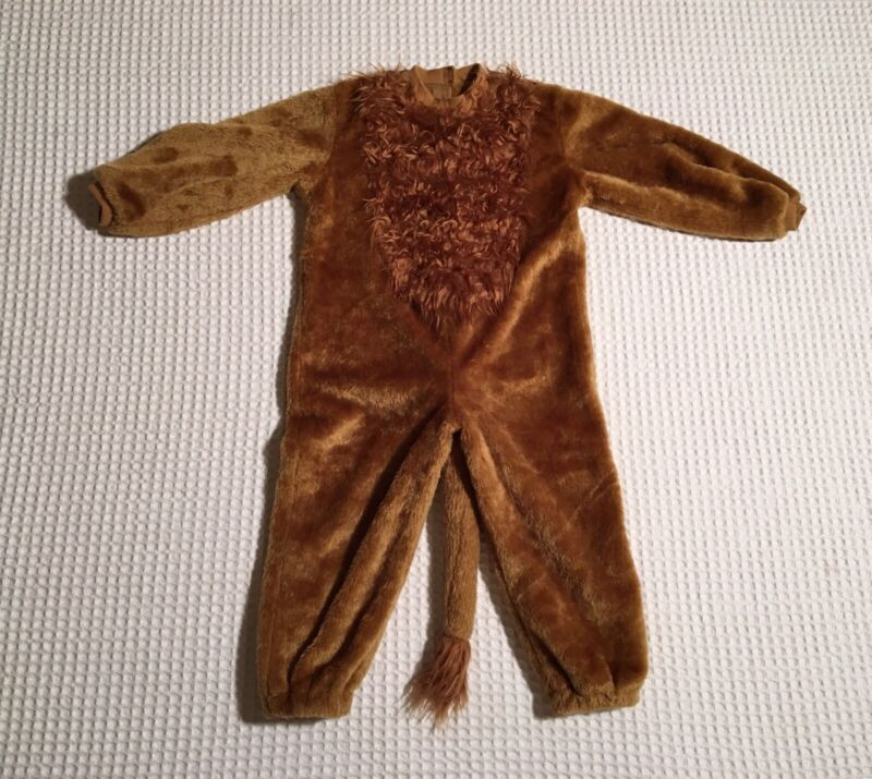 ORGANICALLY GROWN KIDS Halloween Costume One Piece LION Toddler 2T - 4T