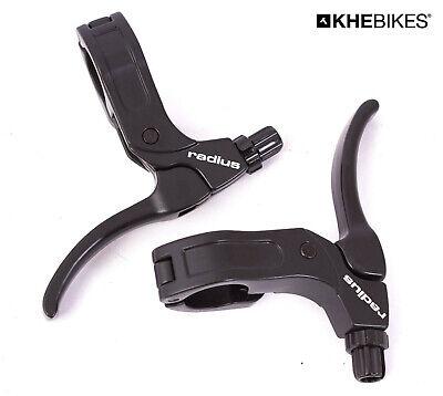 KHE Radius BMX Bremshebel PAAR Alu Klappscharnier Kaltgeschmiedet 2-Finger