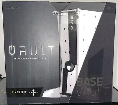 Calibur11 Licensed Vault for XBox360 Base Case Model White - Brand New