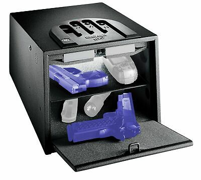 GunVault Bio Vault Biometric Pistol Safe w/ Fingerprint Recognition, 10: GVB2000
