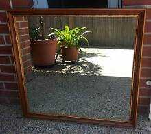 Mirror with timber frame Williamstown Hobsons Bay Area Preview