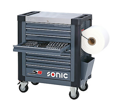 Licht, Starke Holz (Sonic Werkstattwagen S9 Schaumeinlagen mit 527 Teilen Farbe grau)