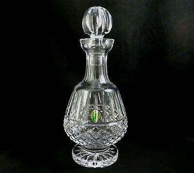 Waterford Crystal Liquor Bar Wine Footed Decanter Tramore Maeve w sticker (Footed Decanter)