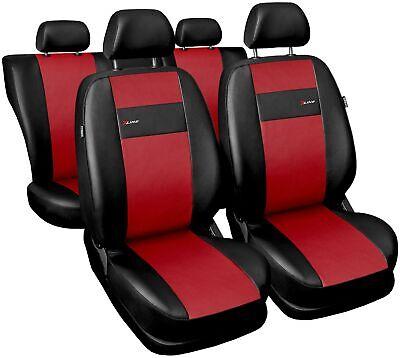Sitzbezüge Sitzbezug Schonbezüge für Mercedes A-Klasse 1997-12 X-line Rot