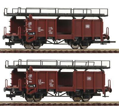 OVP Fleischmann 8291 N Doppelstock-Autotransporter DB AG Ep.5 beladen neuwertig