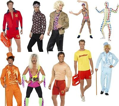 Tv Themed Costumes (Men's 1990's TV Film Comedy Fancy Dress Costumes Stag Themed Parties Nights Out)