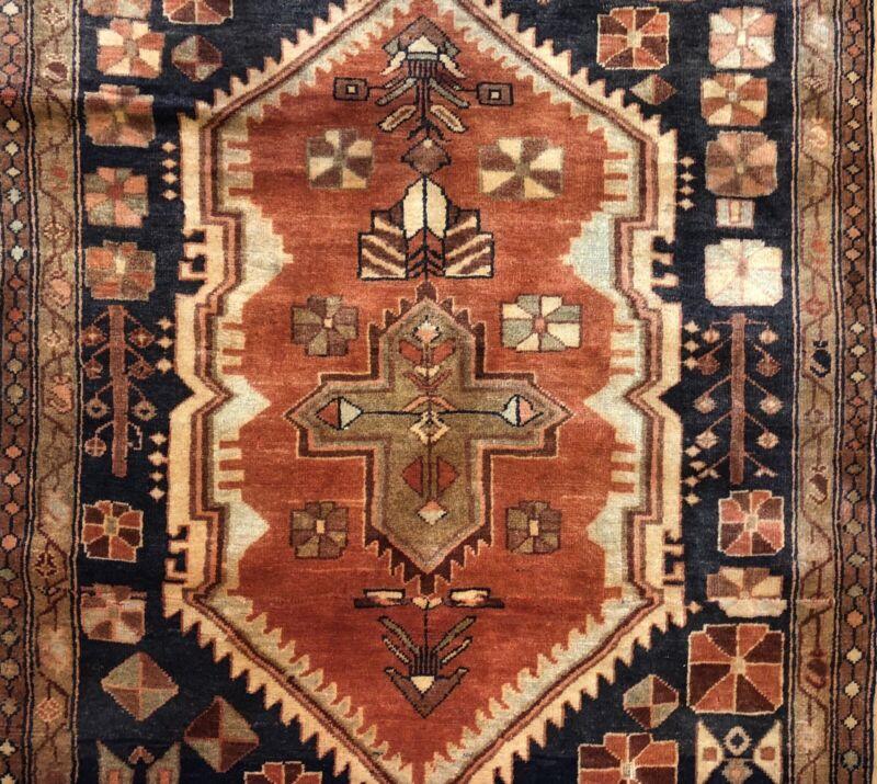 Tremendous Tribal - 1960s Vintage Oriental Runner - Gallery Rug - 4 X 9.2 Ft.