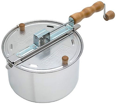 WHIRLEY POP Stovetop Old Fashioned Popcorn Popper ...