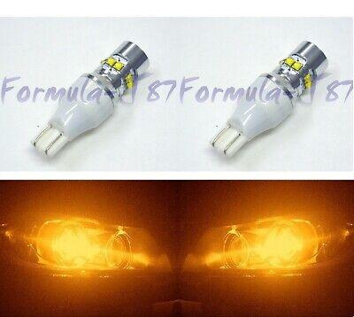 LED Light 50W 921 Amber Orange Two Bulbs Rear Turn Signal Upgrade Replace