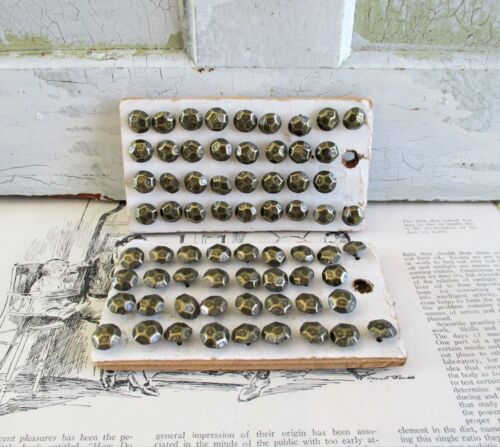 Vintage Brass Furniture Nails / Tacks