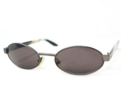 GUCCI sunglasses gg1641 black gray vintage unisex small oval glasses
