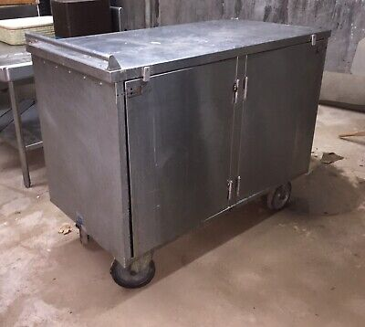 Food Service Cart Stainless Steel Restaurant Bakery High Quality