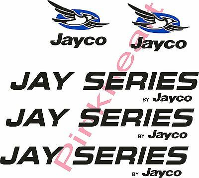 Jay Series by Jayco bird Decals RV sticker decal graphic camper stickers logo