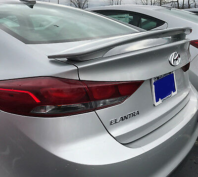 PAINTED ALL COLORS SPOILER FOR A HYUNDAI ELANTRA 2017 2019