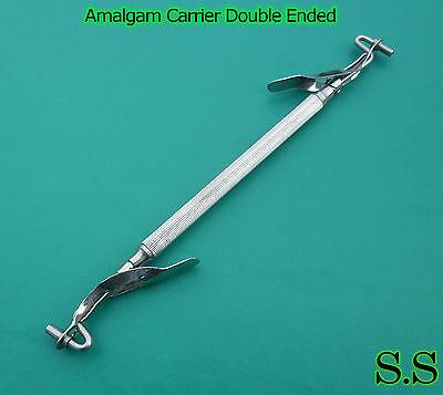 2 Amalgam Carrier Large Jumbo Dental Instruments