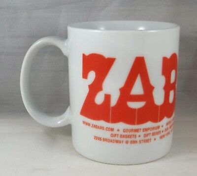 ZABARS Mug Coffee Cup Famous New York Deli City Upper West Side Design Two
