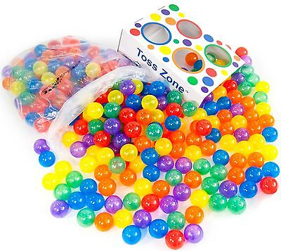 270 Wonder Invisiball Crush Proof Non-Recycled Safe Pit Balls w/ Toss Zone 3106