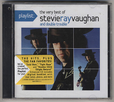 Playlist: The Very Best of Stevie Ray Vaughan and Double Trouble CD Hype (The Very Best Of Stevie Ray Vaughan And Double Trouble)