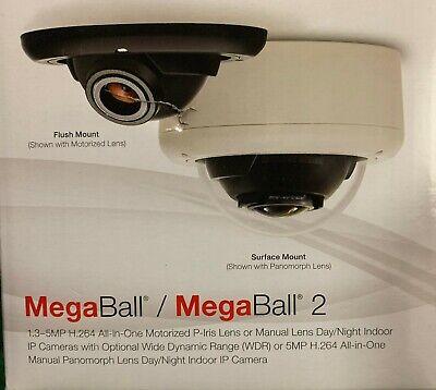 Dome Ip 3mp Camera Arecont Vision Megaball2 Av3145dn-3310d-lg Indoor New