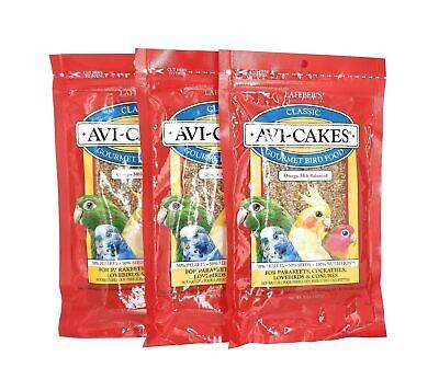 LAFEBER'S Flavor Avi-Cakes for Parakeets 1.6