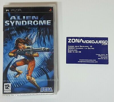 Alien Syndrome, Sony PSP, PAL-ESP. Nuevo a estrenar.