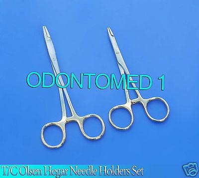 10 Tc O.r Grade Olsen Hegar Needle Holder 5.56.5 W Tungsten Carbide Inserts