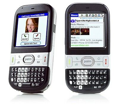 Palm Centro AT&T PDA Cell Phone BLACK Bar GSM qwerty keyboard internet camera ()
