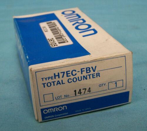 OMRON MODEL H7EC-FBV COUNTER, DIGITAL