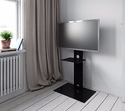 """High Gloss Cantilever TV Stand Shelf Mount Bracket For LCD/LED TV  30"""" - 50 inch"""