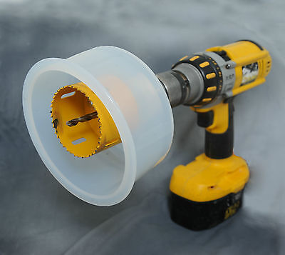 D.A.D.E - Holesaw Dust & Debris Catcher Eliminator for Drilling Vertically DADE