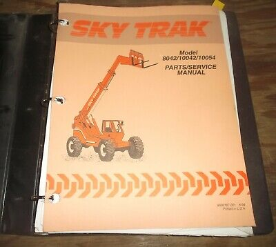 Skytrak 8042 10042 10054 Telehandler Telescopic Forklift Service Repair Manual