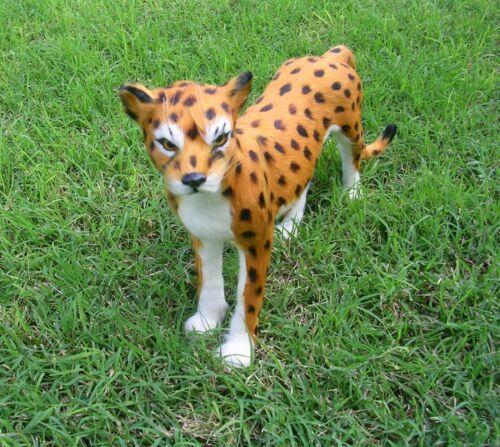 Realistic Lifelike Cheetah Rabbit/Goat Fur Furry Animal LE1282