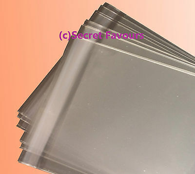 Clear Cello Bags for Greeting Cards and Prints | Plastic Cellophane Peel & Seal